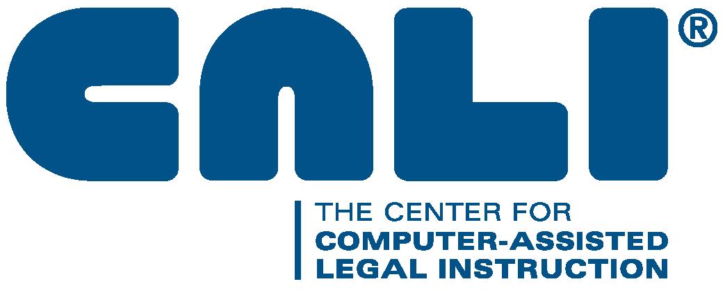 Logo for CALI Lawbooks